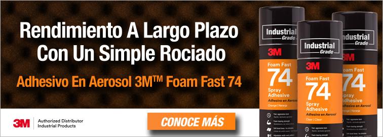 Adhesivo En Aerosol Foam Fast 74 de 3M