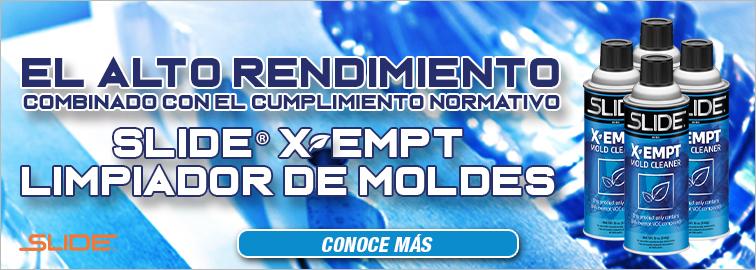 Limpiador De Moldes Slide X-EMPT