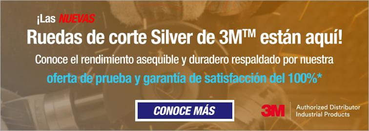 3M Silver Ruedas de corte