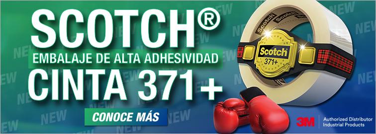 3M Scotch Cinta para embalaje 371+