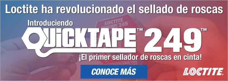 Loctite 249 Quicktape - el fijador de roscas en cinta