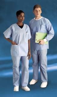 Dupont Convertors Pantalones Quirurgicos 23602pe Tamano Mediano Tela Sms Azul Rshughes Mx