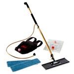 3M Easy Shine Kit de trapeador - Dorado mango - Conexión Mopa plana - 55433
