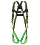 Miller E650FDQC Verde Universal Estilo chaleco Relleno trasero Arnés para el cuerpo - Tejido Duraflex - 612230-18841