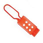 Brady Naranja Nailon Broche de bloqueo/etiquetado 99668 - Ancho 1.75 pulg. - Altura 7 pulg. - 754476-99668