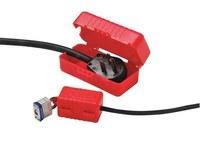 Honeywell E-Safe 110 V Rojo Bloqueo de enchufe eléctrico - Ancho 3.25 in - HONEYWELL LP110