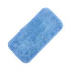 NuTrend MicroWorks Azul Microfibra Almohadilla de trapeador - longitud total 5 pulg. - Ancho 11 pulg. - NUTREND 2504-SPH-MFP-11B