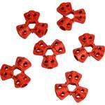 Brady Rojo Nailon reforzado con fibra de vidrio Dispositivo de bloqueo neumático 65645 - Ancho 0.83 in - Capacidad de Candado 6 - 754476-65645