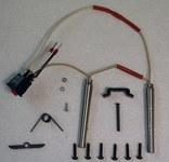 Schild Manufacturing Fusión en caliente Kit de calentador - Para uso con Aplicador de fusión en caliente EC Voltaje: 220/240 V - 8