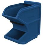 Akro-mils 6 gal 50 lb Azul Tolva pequeña de gravedad de flujo fácil - longitud total 16 pulg. - Ancho 8 1/4 pulg. - Altura 16 pulg. - 31620BLUE