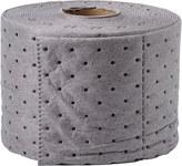 Brady Gris Con orificios 3.3 gal Rollo absorbente SRP75P - Ancho 7.5 pulg. - Longitud 50 pies - 662706-89894