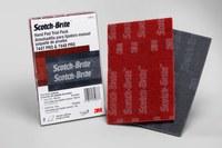 3M Scotch-Brite No tejido Paquete de prueba de almohadilla de mano - Grados incluidos Ultrafino - 6 pulg. longitud - 64933