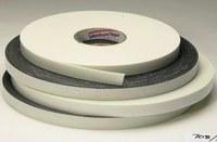 3M Venture Tape VG708 Cinta de espuma de doble cara Negro - 1/2 pulg. Ancho x 85 pies Longitud - 1/8 pulg. Grosor - 96597