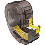 Brady X-20-483 Negro sobre blanco Poliéster Cartucho para impresora de transferencia térmica troquelado - Altura 1 pulg. - B-483
