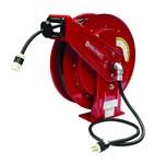 Reelcraft Industries Serie L 70000 75 pies Rojo Acero Carrete de cable - longitud total 19.75 pulg. - Ancho 8.25 pulg. - Altura 20.25 pulg. - 01811
