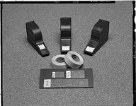 3M ScotchCode SLS-R Repuesto de cinta marcadora de cable Blanco - 1 pulg. Ancho x 2 1/8 pulg. Longitud - 49652