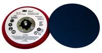 3M Stikit 20351 Duro Rojo PSA Almohadilla de disco - 5 in diámetro - 3/8 in Grosor