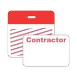 Brady Securalert Rojo Etiqueta de identificación - longitud total 3 pulg. - Ancho 3 pulg. - 95653