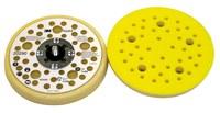3M Hookit 20290 Suave Amarillo Almohadilla de disco - 5 in diámetro - 11/16 in Grosor - Externo Rosca para Accesorio