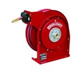 Reelcraft Industries Serie 4000 20 pies Rojo Acero Carrete de manguera - longitud total 12.625 pulg. - Ancho 5.375 pulg. - Altura 12.875 pulg. - 00011
