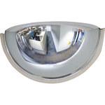 Brady Interior/exterior Plástico Medio domo Espejo de seguridad 86342 - Diámetro total 18 pulg. - 754476-86342