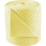 Brady BASIC Amarillo Polipropileno Con orificios 38 gal Rollo absorbente BRH152 - Ancho 15 pulg. - Longitud 150 pies - 662706-90438