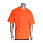 PIP 310-CNTSNOR Naranja Poliéster Camisa de alta visibilidad - Camiseta - Para tamaño del pecho 51.2 pulg. - Longitud 31.1 pulg. - 616314-88681