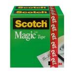 3M Scotch 810H2 Magic Cinta de oficina Transparente - 1/2 pulg. Ancho x 1296 pulg. Longitud - 51808