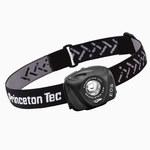 Princeton Tec EOS Industrial Negro Lámpara de cabeza - Lúmenes 130 LEDs 1 Blanco - (3) AAA 3 modos - 01105