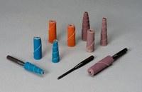 Standard Abrasives 710479 Recto A/O óxido de aluminio AO Rodillo de cartucho - 80 grano - Peso X - 1 1/2 pulg. longitud - Diámetro 1/2 pulg. - Agujero Central 1/8 pulg. - 32941