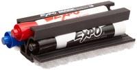 Brady Juego de borrador y marcador de pizarron blanco Negro/Azul/Rojo - 112632