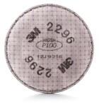 3M 2296 Filtro de respirador reutilizable - Conexión Bayonet - Ancho 4.3 pulg. - Altura 4.3 pulg. - 051131-17171