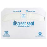 NuTrend Discreet Seat DS-5000 Cubierta de asientos de inodoros - 250 por paquete - 5000