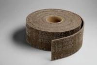 3M Scotch-Brite A/O óxido de aluminio AO Rodillo de desbaste - Muy fino grado - 4 pulg. ancho x 30 pies longitud - 14756