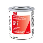 3M High Performance 847 Adhesivo de caucho y juntas Marrón Líquido 1 gal Lata - 19723