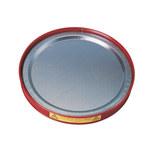 Justrite Rojo Acero 1 qt Bandeja - Ancho 13 3/4 pulg. - Altura 1 1/4 pulg. - 697841-00283