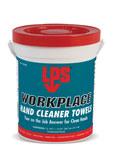 LPS Workplace Limpiador de manos - 72 paños Cubo - Naranja Fragancia - 09200
