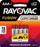 Rayovac Fusion 824 Estándar Batería - Desechables Alcalino AAA