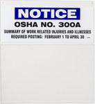 Brady Tablero de capacitación de cumplimiento de OSHA 45673 - Inglés - 754476-45673