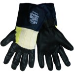 Global Glove Tsunami Grip 888KV Negro Grande Kevlar Guantes resistentes a cortes - 888KV LG