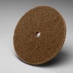 3M Scotch-Brite Óxido de aluminio Disco de desbaste - Mediano grado - Accesorio Eje - Diámetro 4 pulg. - Agujero Central 1/4 pulg. - 05866