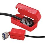 Honeywell E-Safe 220 V, 550 V Rojo Bloqueo de enchufe eléctrico - Ancho 12 in - HONEYWELL LP550
