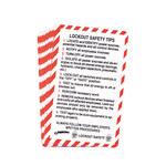 Brady Tarjeta de billetera de capacitación de bloqueo/etiquetado - Título de capacitación = LOTO - 754476-45632