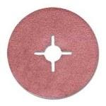 Dynabrade Recubierto Óxido de aluminio Disco de fibra - Diámetro 5 pulg. - Agujero Central 7/8 pulg. - 79351