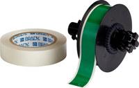 Brady ToughStripe B30C-1125-483GN-KT Verde brillante Poliéster Cinta imprimible para marcar el piso con sobrelaminado - Interior - Ancho 1.125 pulg. - Longitud 100 pies - B-483, B-634
