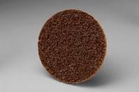 3M Scotch-Brite No tejido Óxido de aluminio Disco de cambio rápido de acondicionamiento de superficie - Accesorio Roloc TR - Diámetro 2 pulg. - 05527