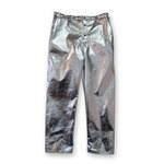 Chicago Protective Apparel Grande Carbón aluminizado Kevlar Pantalones resistentes al fuego - 606-ACK LG