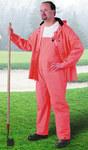 Dunlop Sitex 76601 Naranja Grande Poliéster/PVC Traje de lluvia - 2 Bolsillos - Para tamaño del pecho 54 pulg. - Entrepierna 30 pulg. - 791079-14503