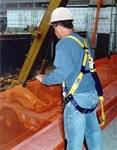 DBI-SALA Sinco Naranja 15 lb Red vertical para escombros - 648250-16255