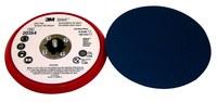 3M Stikit 20354 Duro Rojo PSA Almohadilla de disco - 6 in diámetro - 3/8 in Grosor